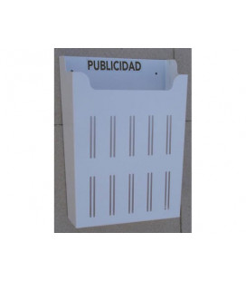 5100-BLANCO CESTA PUBLICIDAD