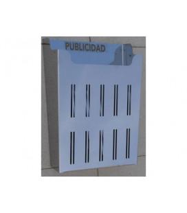 5102-INOX CESTA PUBLICIDAD